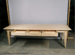 8 Foot Long Maple Desk, by David Hurwitz, Randolph, Vermont. Copyright 2009, David Hurwitz. All Rights Reserved.