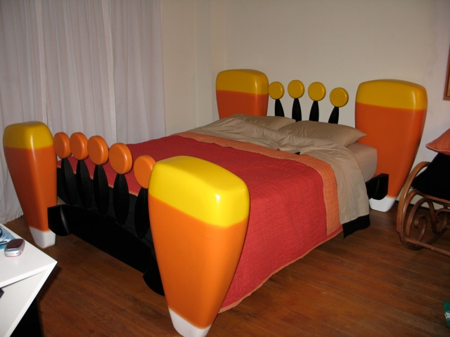 The Trick Or Treat Bed Guild Of Vermont Furniture Makers