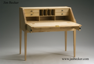 Slant Top Desk For The Seldins Drop Front Desk Vt
