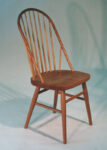 Bowback cherry Windsor side chair