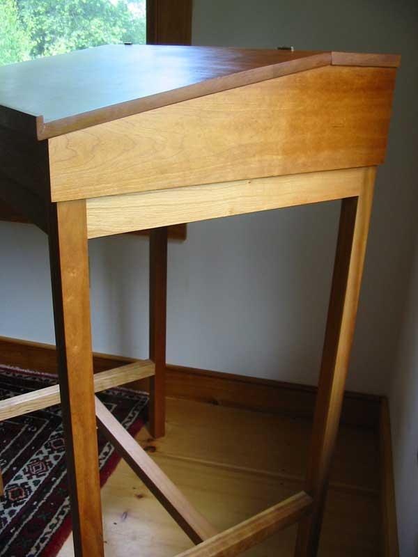 Custom Stand Up Writing Desk Hawk Ridge Furniture Paul