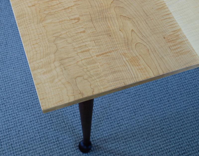 Tiger Maple Dining Table Hawk Ridge Furniture St Johnsbury Vt