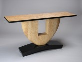 """State of Craft"" Console Table by David Hurwitz, Randolph, Vermont"