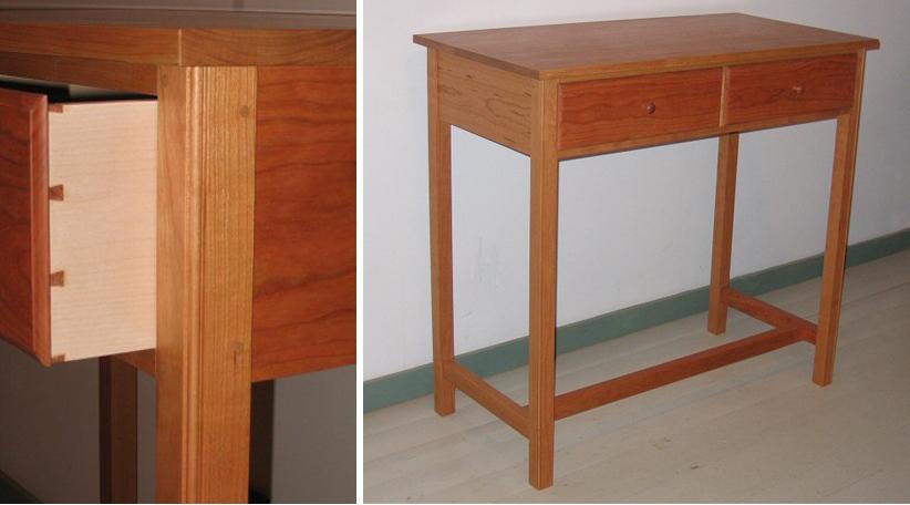 Richard Bissell Fine Woodworking Standing Desk
