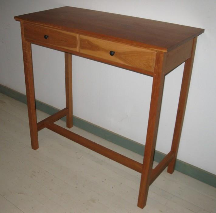 Vermont cherry stand up desk