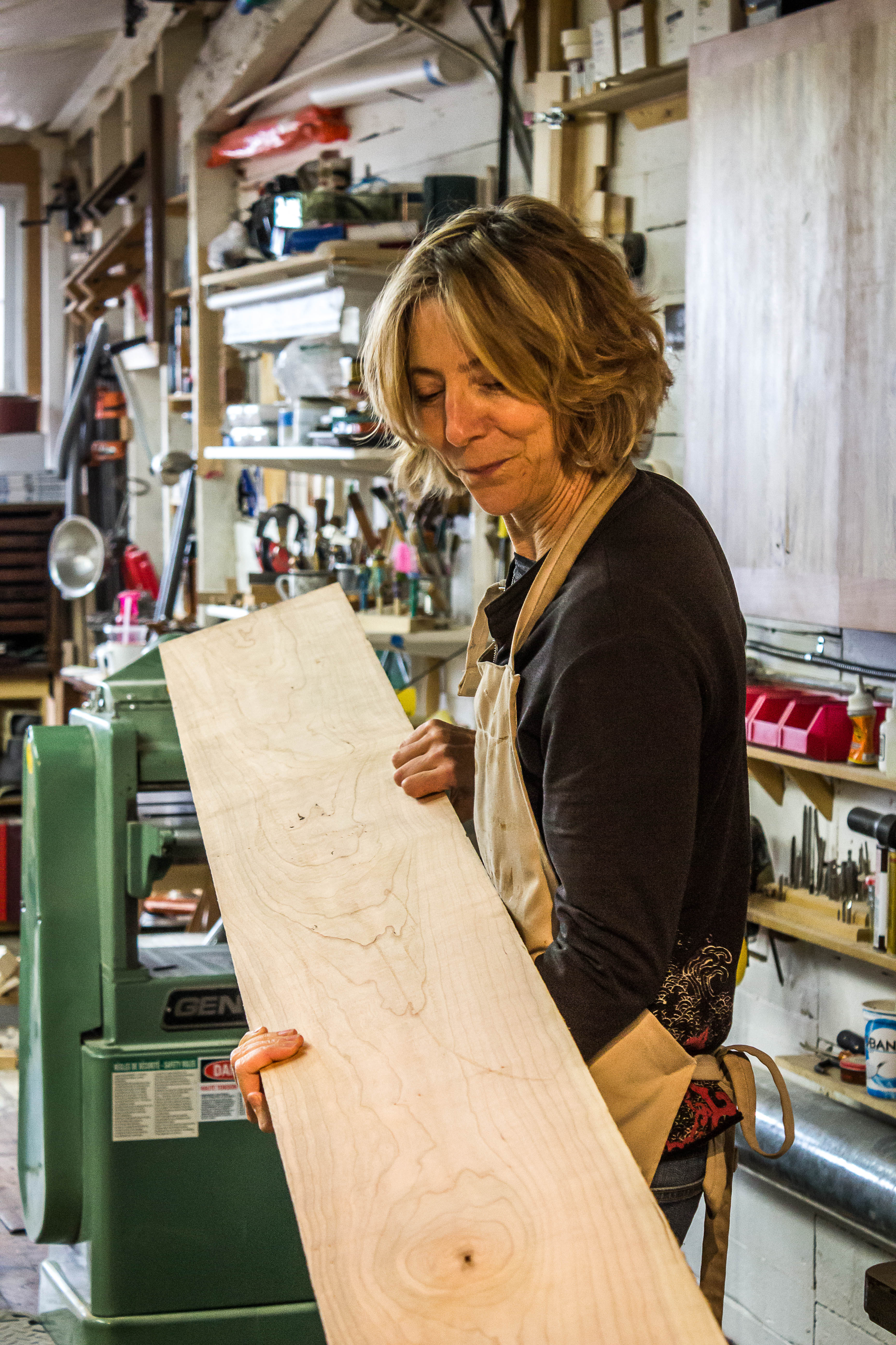 Works With Her Hands One Fine Furniture Maker Bucking The