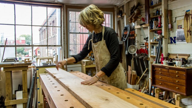 Guild Member Erin Hanley Fine Furniture Burlington VT