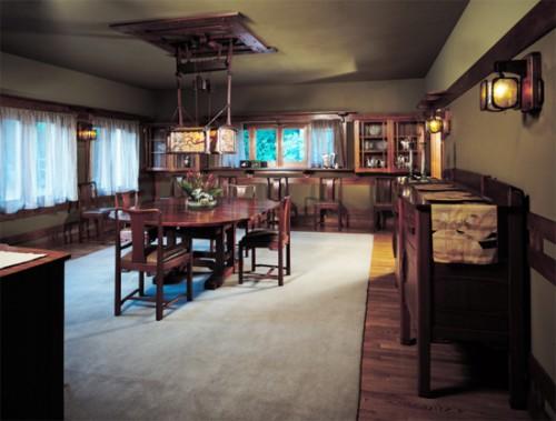 American Craftsman Greene & Greene Exhibit