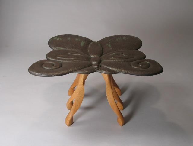 Hurwitz unique custom end table