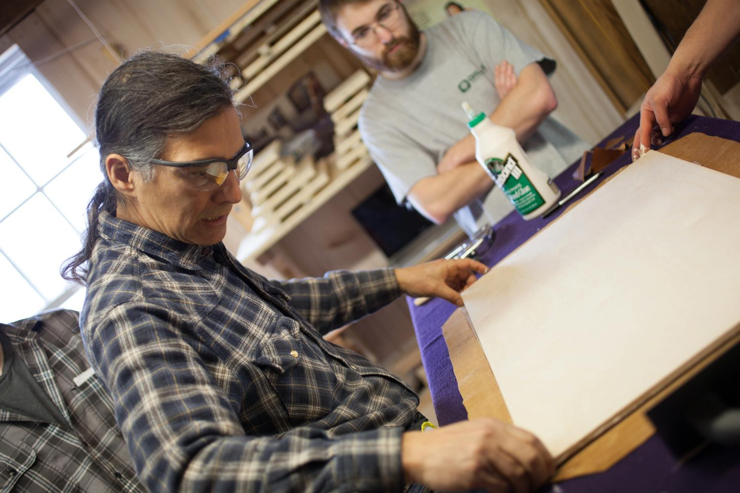 Guild Members Teach at Vermont Woodworking School