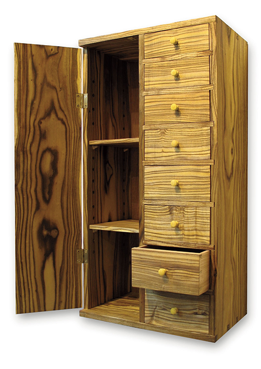 Sumac Cabinet with Local Wood