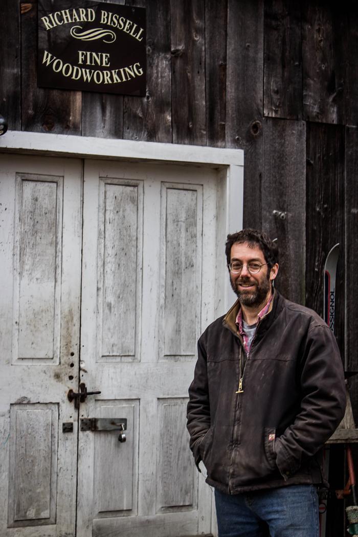 Vermont Studio Maker Richard Bissell