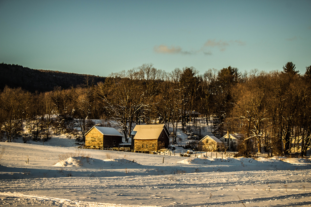Homestead in Winter, Courtesy of Route 7 Social