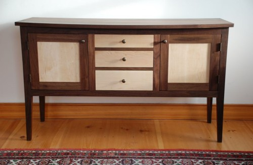 Maple Walnut Sideboard