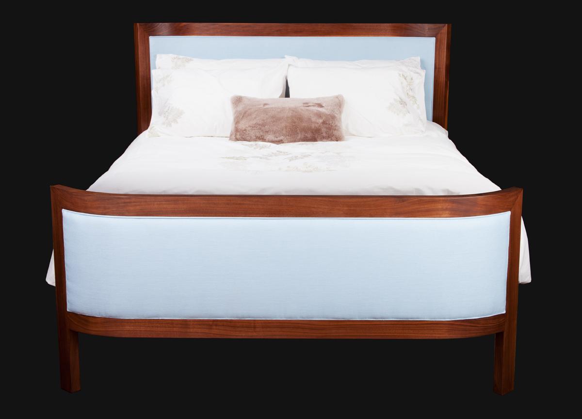 Modern, Elegant Handcrafted Bed