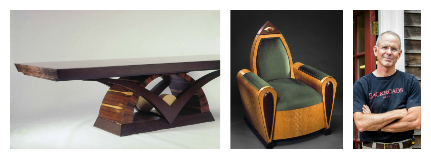 Custom, Modern and Reproduction Studio Furniture by Steve Holman Vermont
