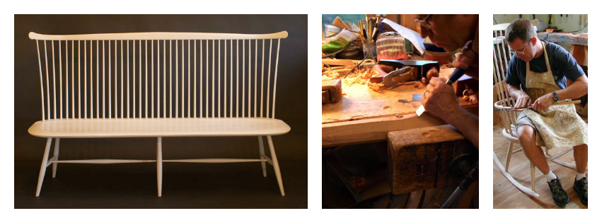 Custom Windsor Chairs and Benches Handcrafted in Vermont