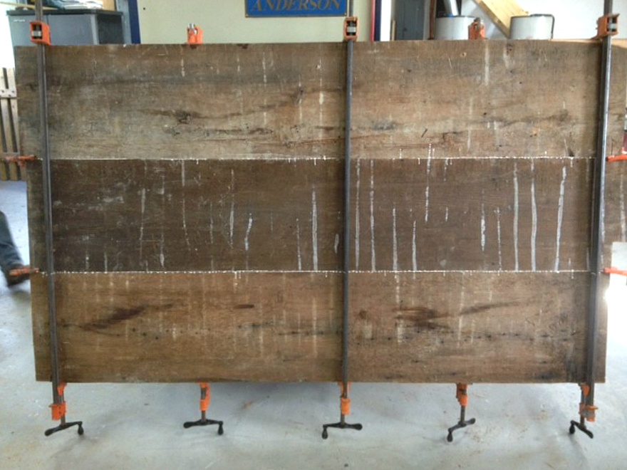 Reclaimed Wood in a Custom Dining Table