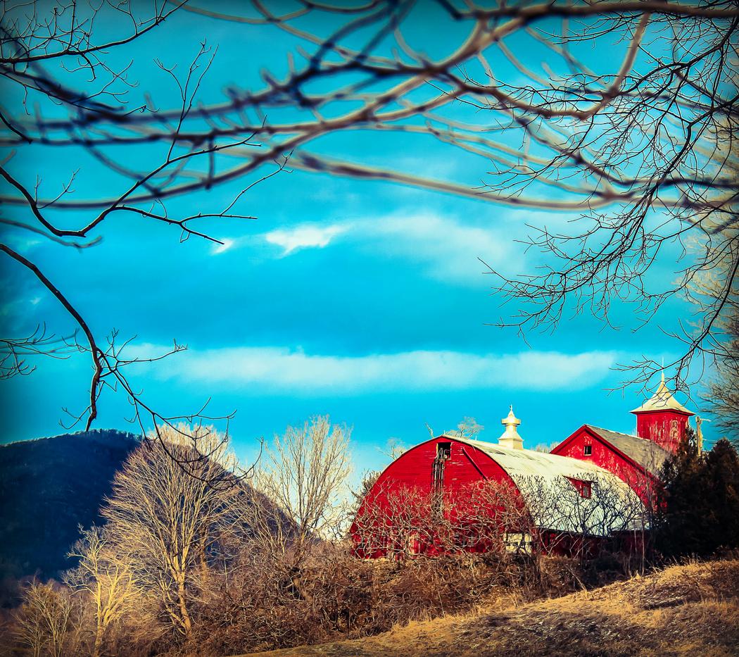 rural scene instagram vermont barn