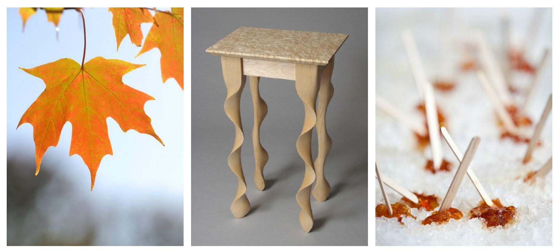 Maple Taffy Table