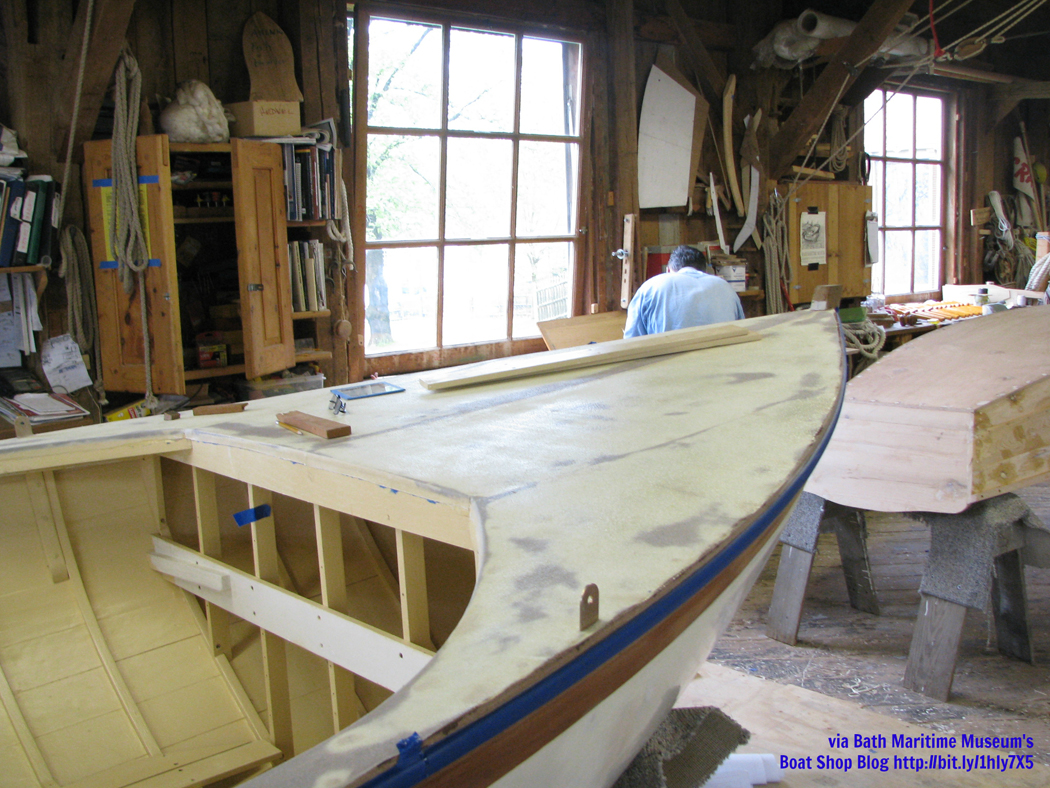 Boat Building at Bath Maritime Museum