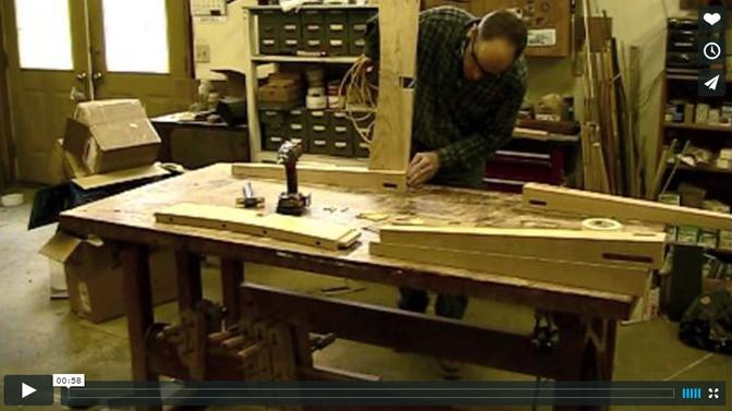 Vermont Furniture Maker at Work