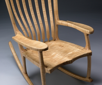 Custom Rocking Chair by Kit Clark