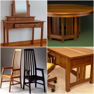 Handcrafted Mission Furniture