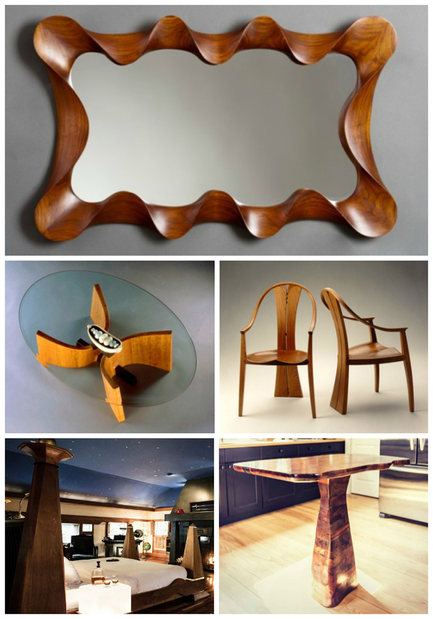 Truly Modern Furniture from Vermont Craftsmen