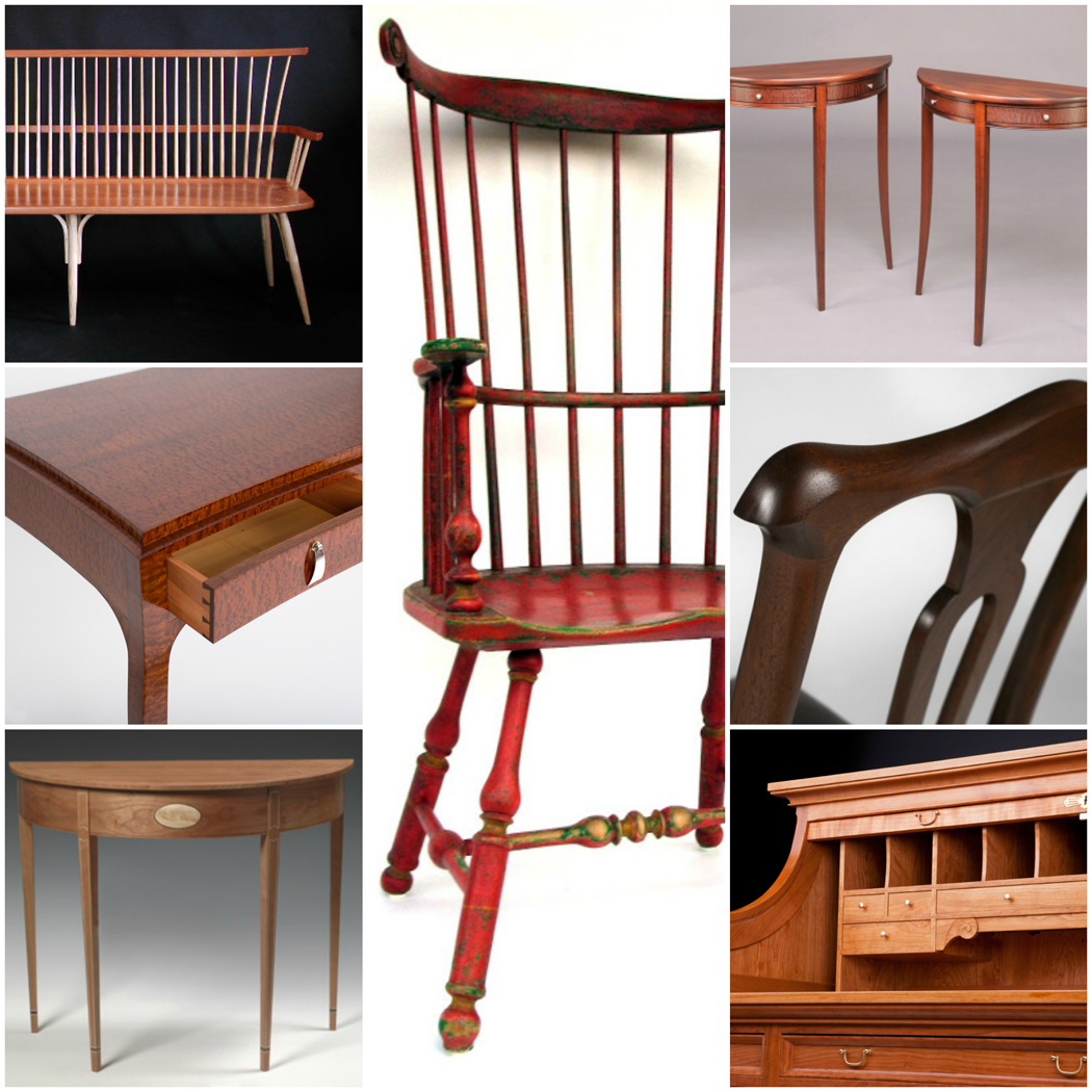traditional furniture by Vermont's master craftsmen