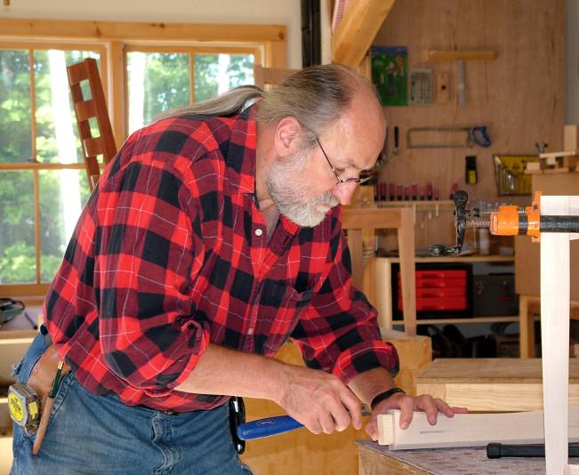 In the Studio with Vermont Furniture Maker Bob Gasperetti