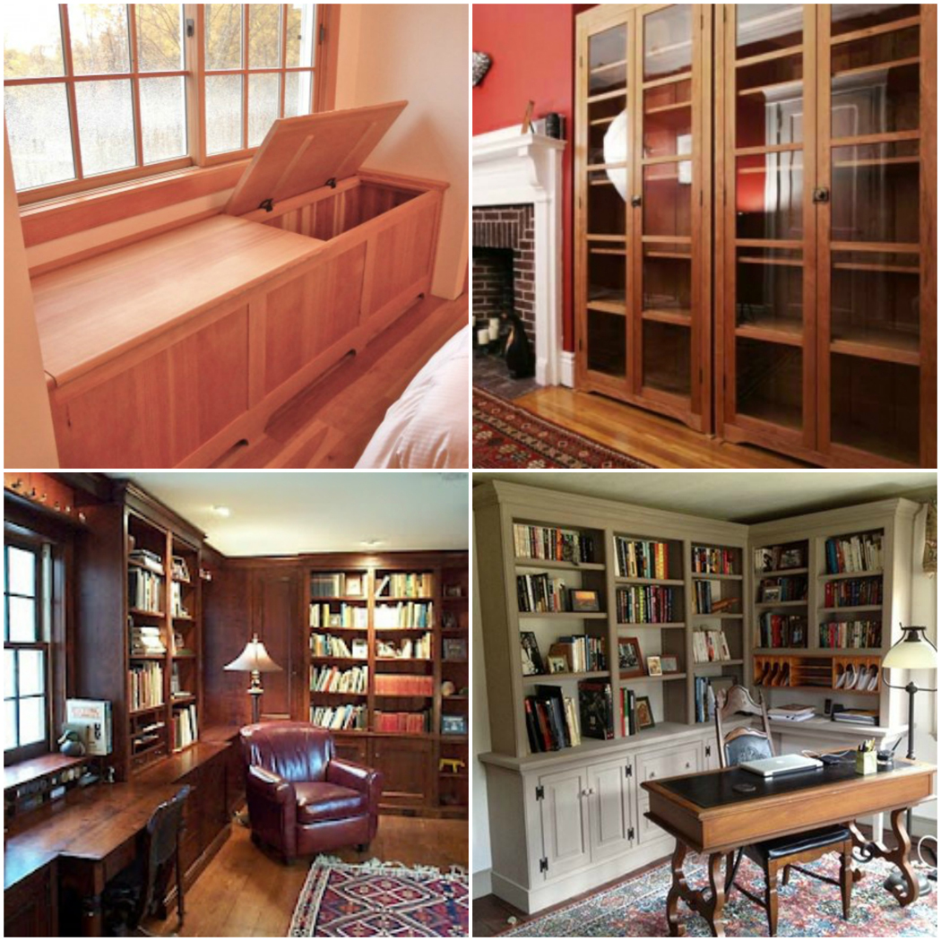 Built Ins and Architectural Work by Vermont Furniture Makers