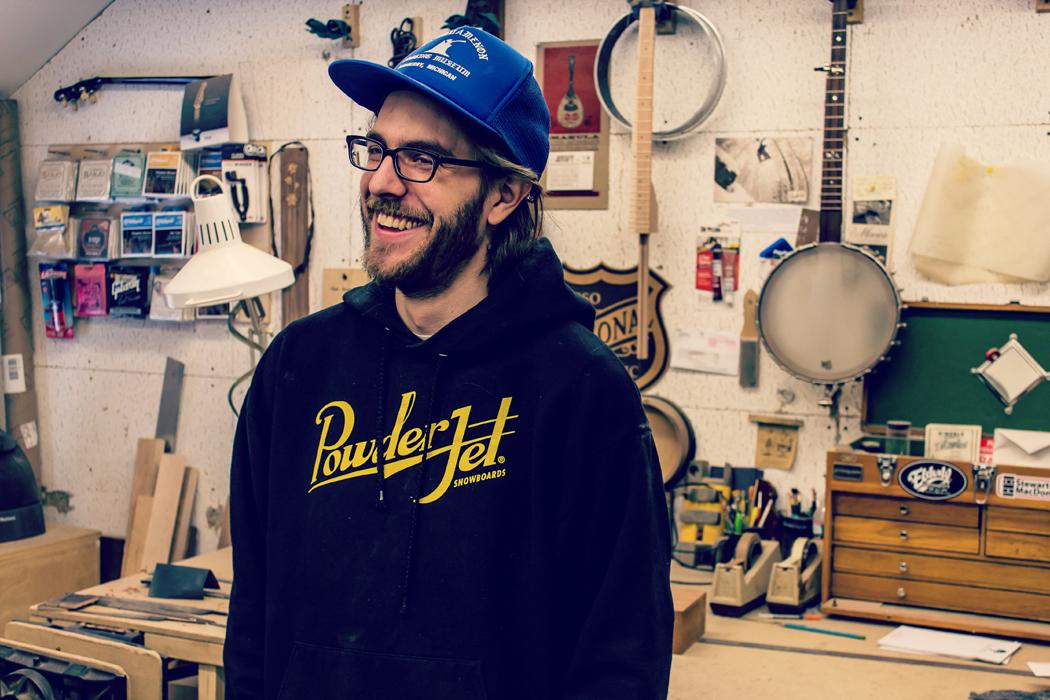 Vermont Instrument Maker Will Mosheim
