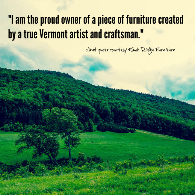 Handcrafted Fine Furniture from Vermont