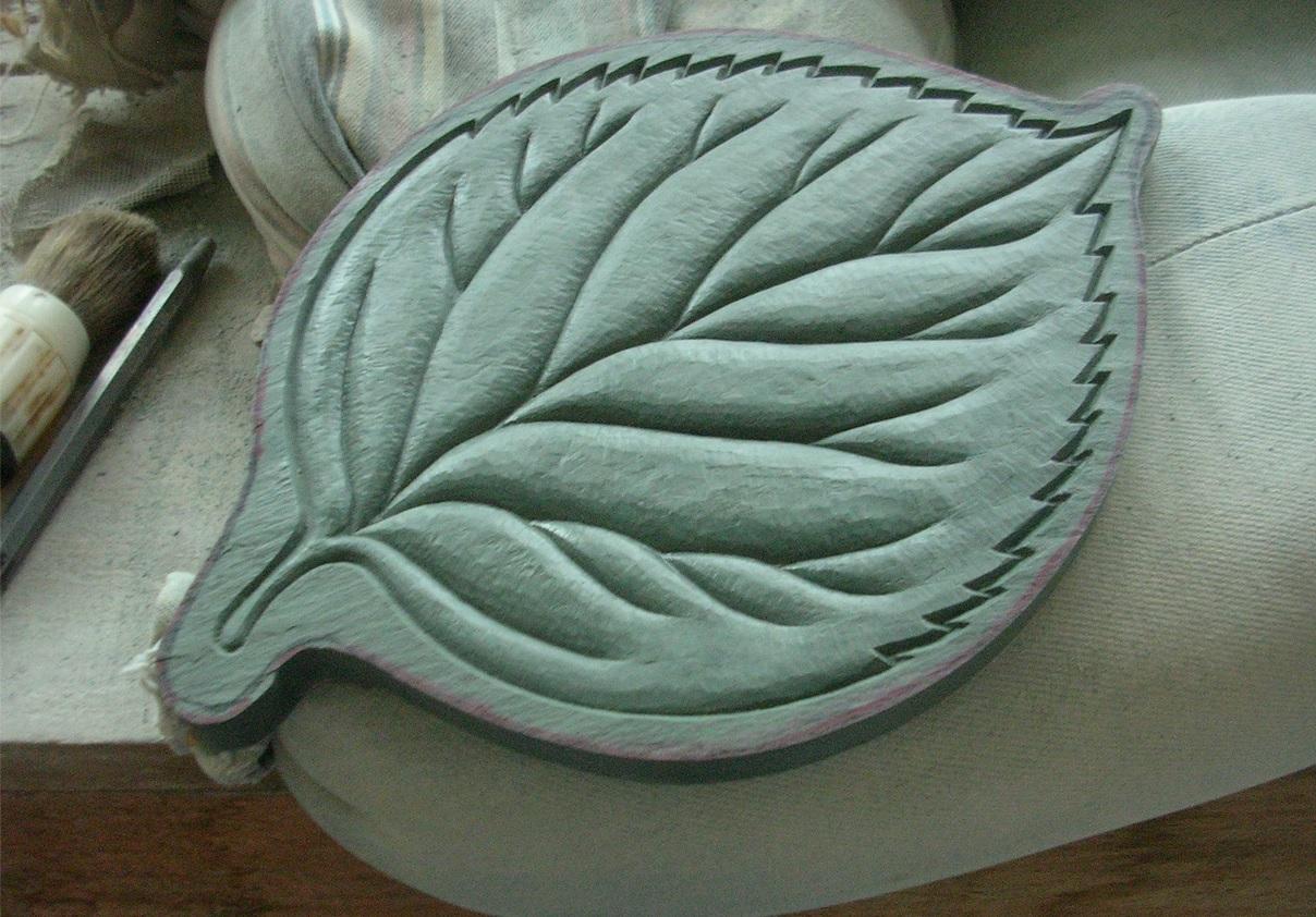 LInden Leaf finished, Kerry Furlani