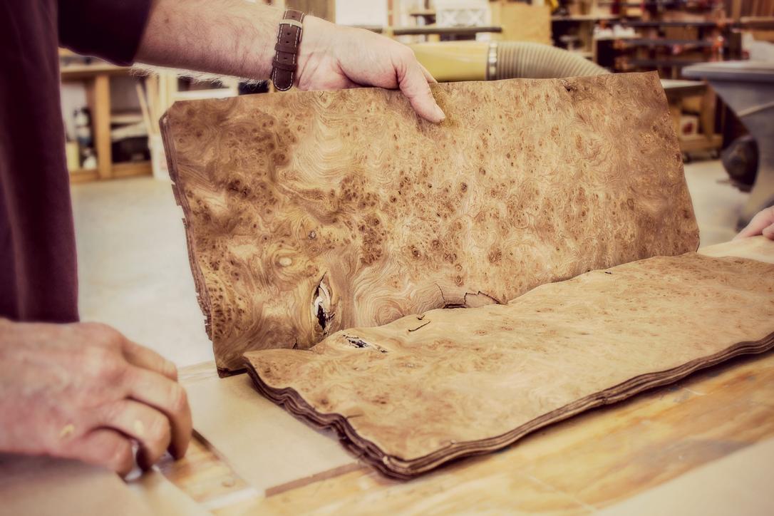 beautifully crafted veneer
