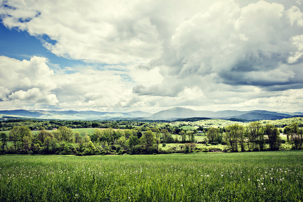 Green Mountains, Rolling Meadows, Southern Vermont