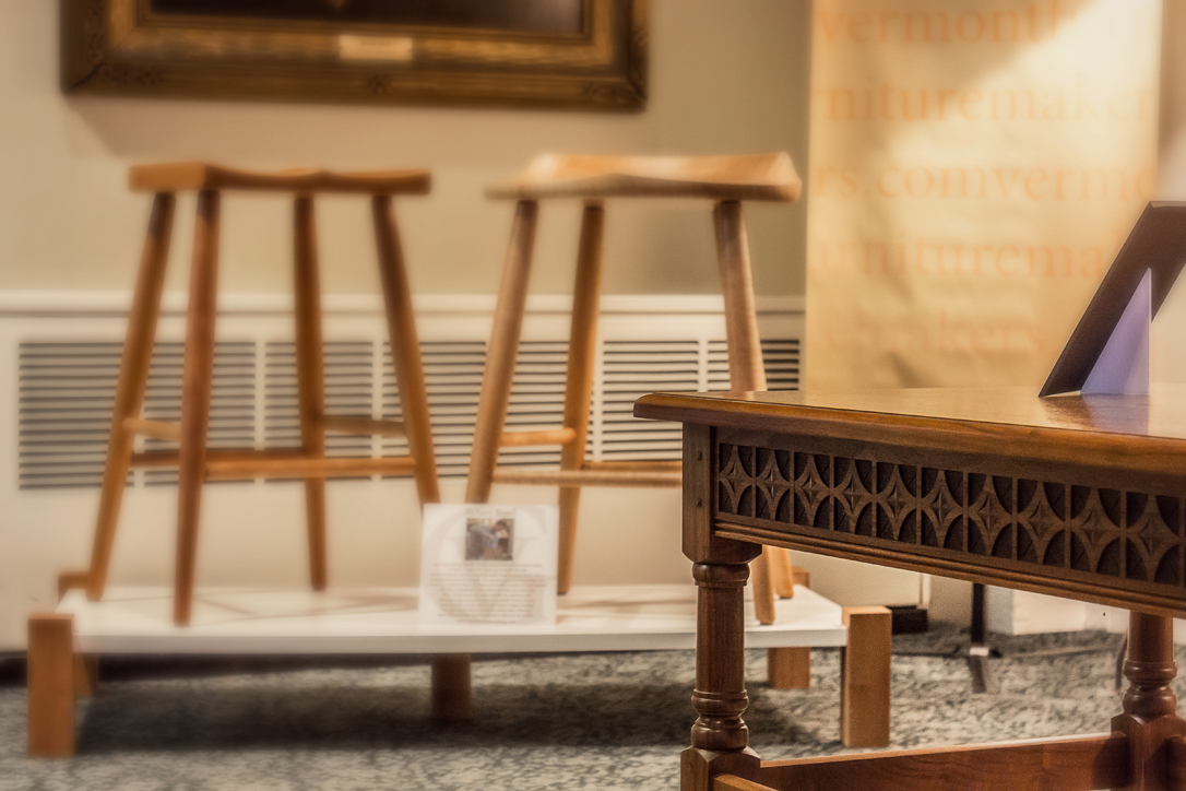 Handcarved Vermont Furniture