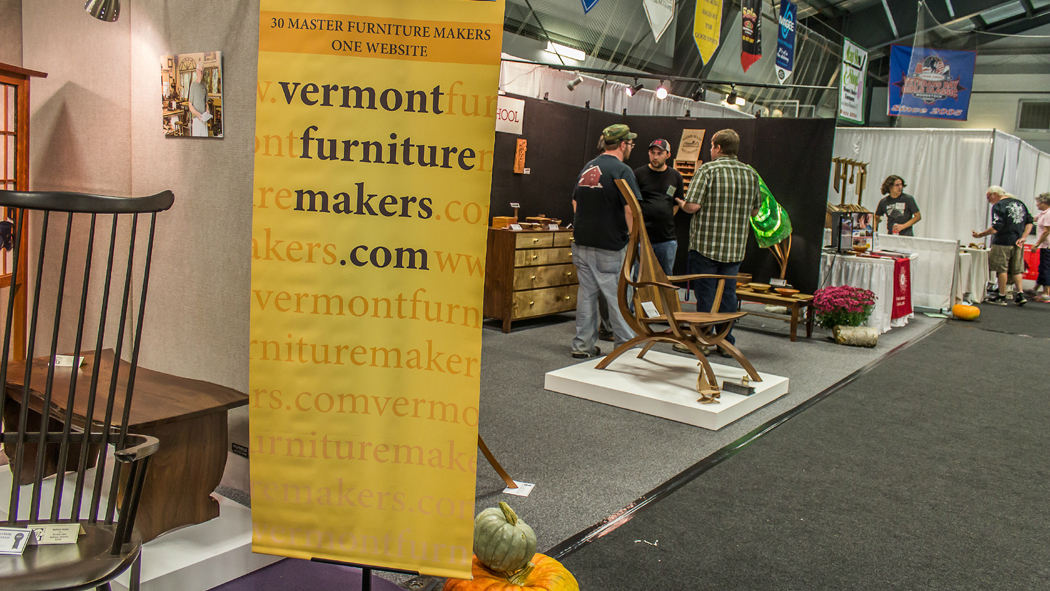Handmade Vermont Furniture from Master Craftsmen and Students on display