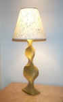 Side view of modern table lamp by David Hurwitz Originals, Randolph, Vermont