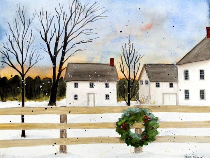 Original Art from Vermont Painter Gloria Palmer