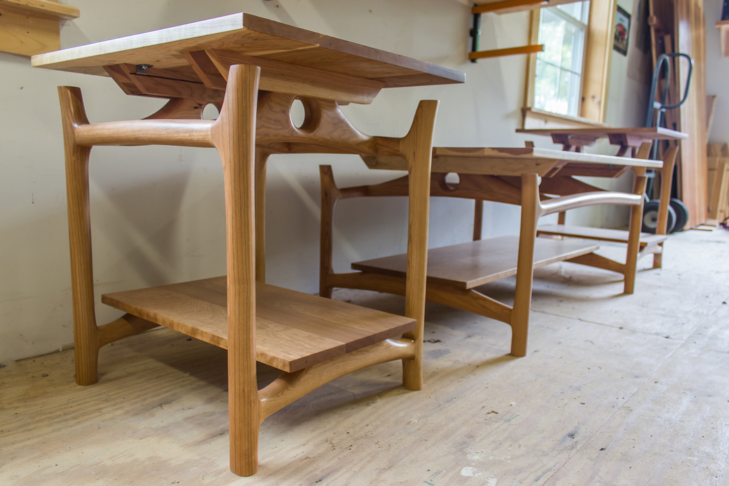 Maple Side Tables Made in Vermont