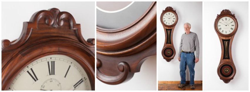 antique replica American clock