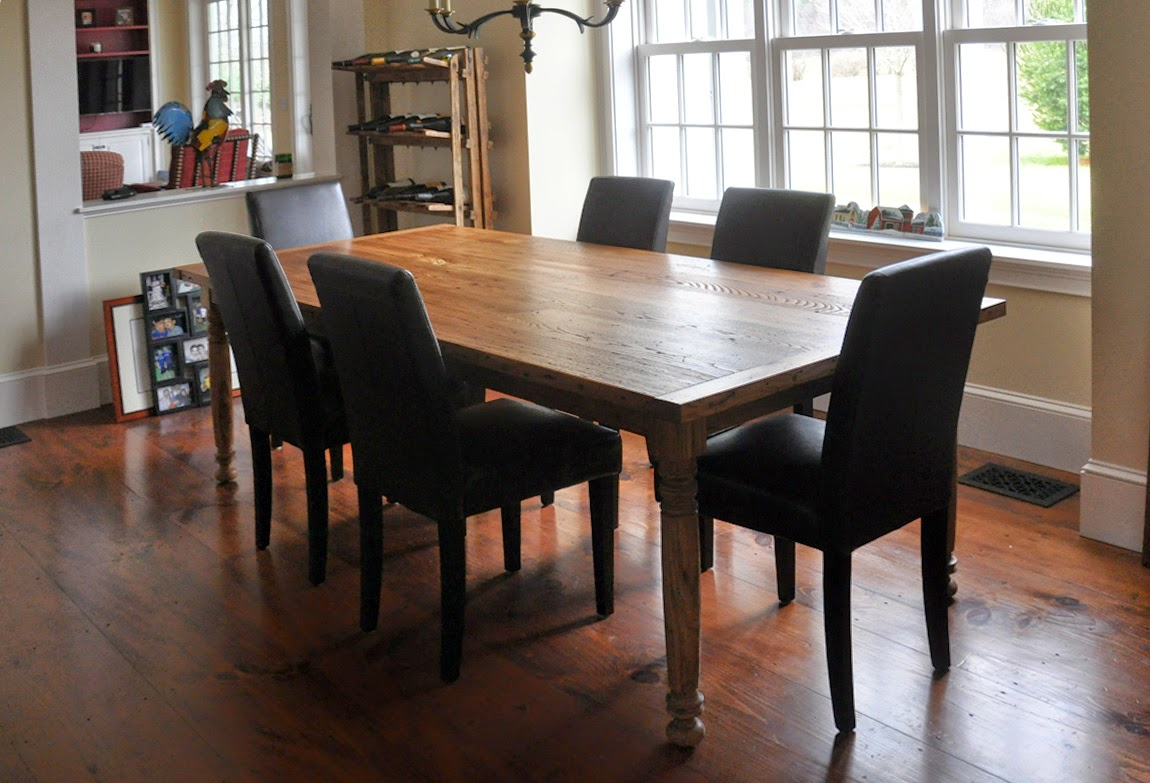 recycled chestnut table