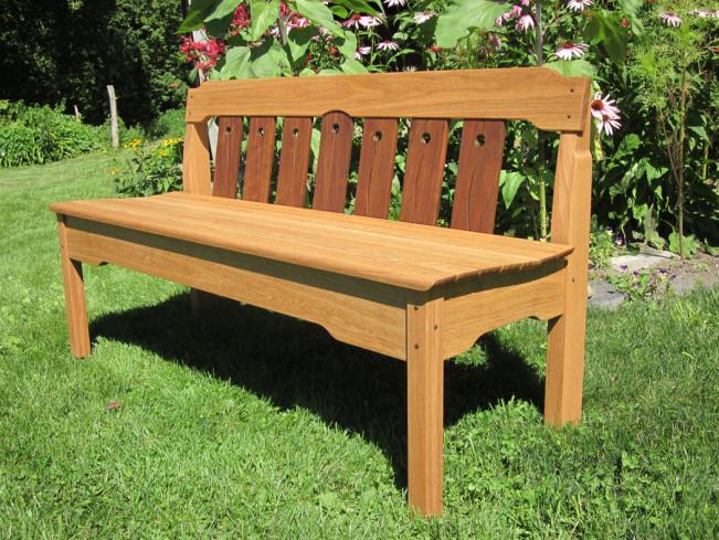 California Garden Bench from David Boyton