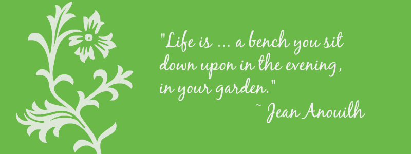 quote about gardens