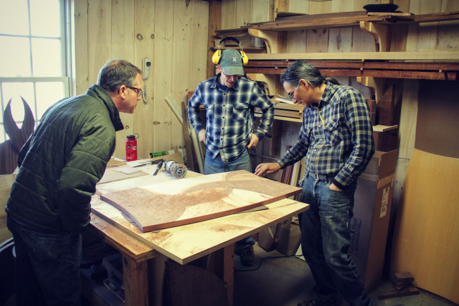 Tour of Vermont Woodworking School