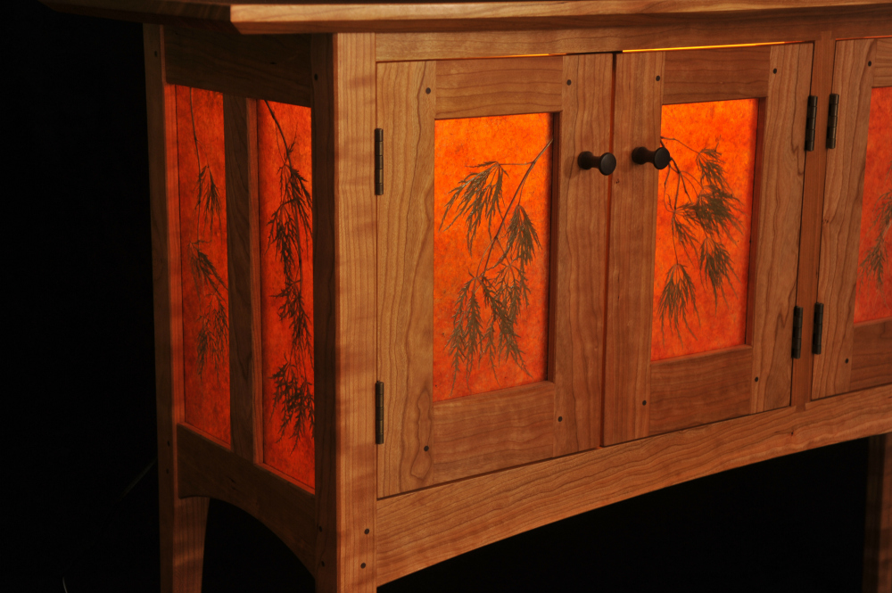 An award-winning collaborative furniture piece handcrafted in Vermont