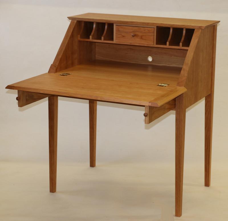 Compact Slant Front Desk