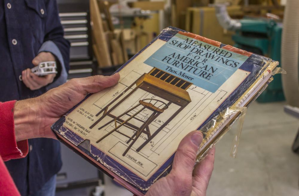 Measured Shop Drawings by Thos. Moser
